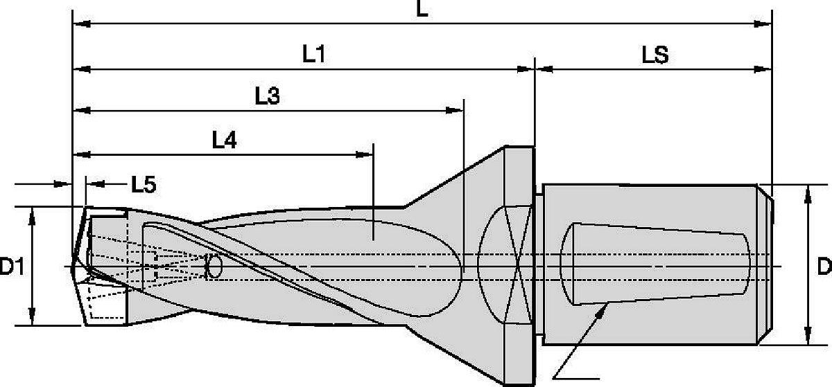 KSEM™ 2° Whistle Notch Shank Bodies