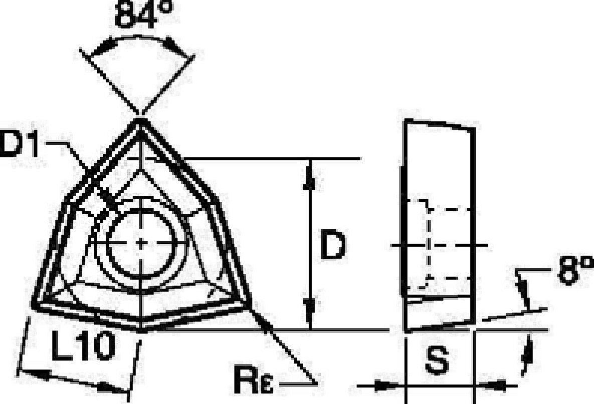 KSEM PLUS™ A1-Bohrköpfe • Drill Fix™ DFT™ Wendeschneidplatten