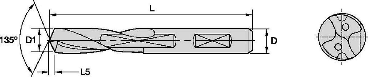 Sistema BF • Brocas HP • Refrigeração interna