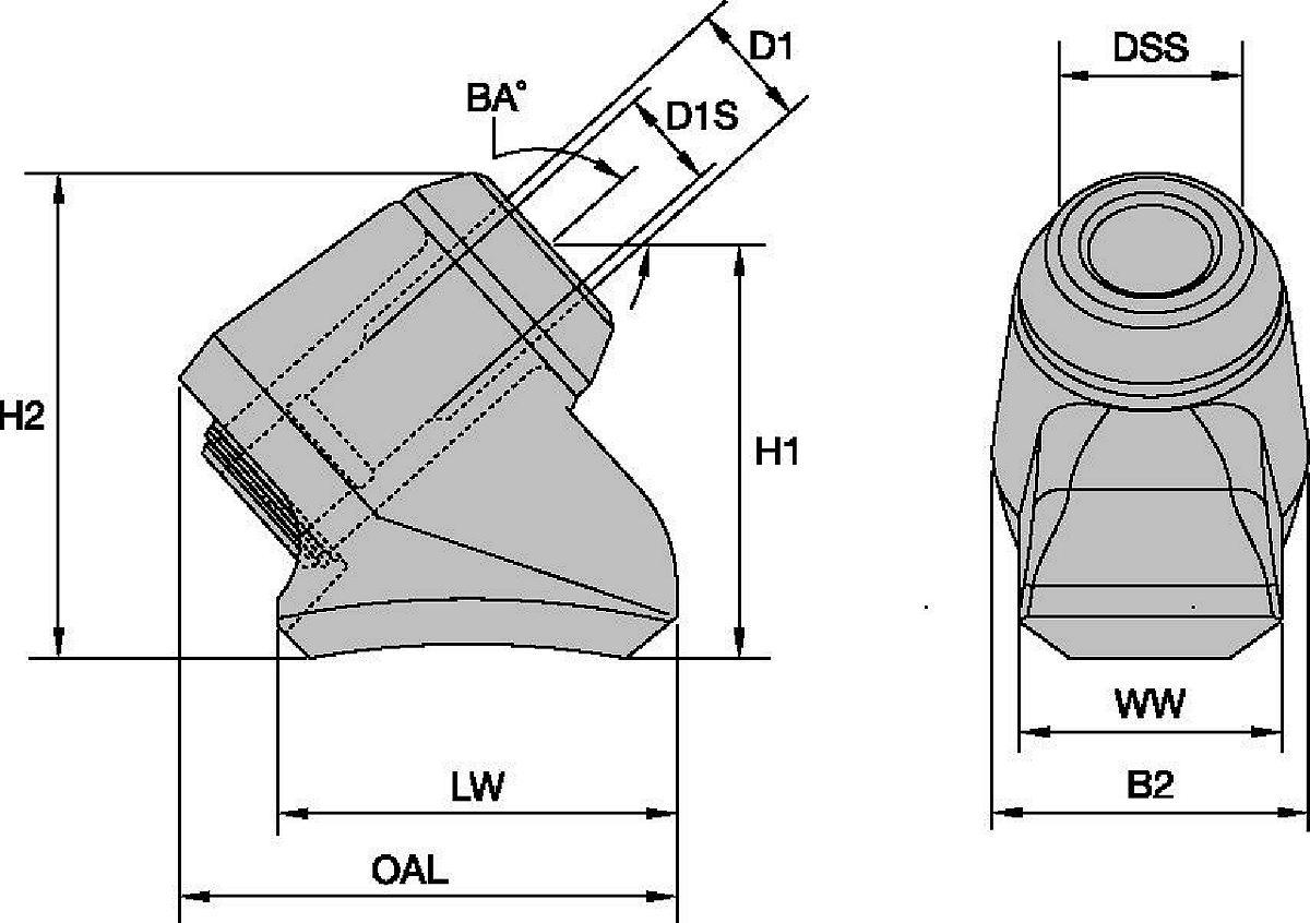 Systemy uchwytów (obsadek) • Seria K225
