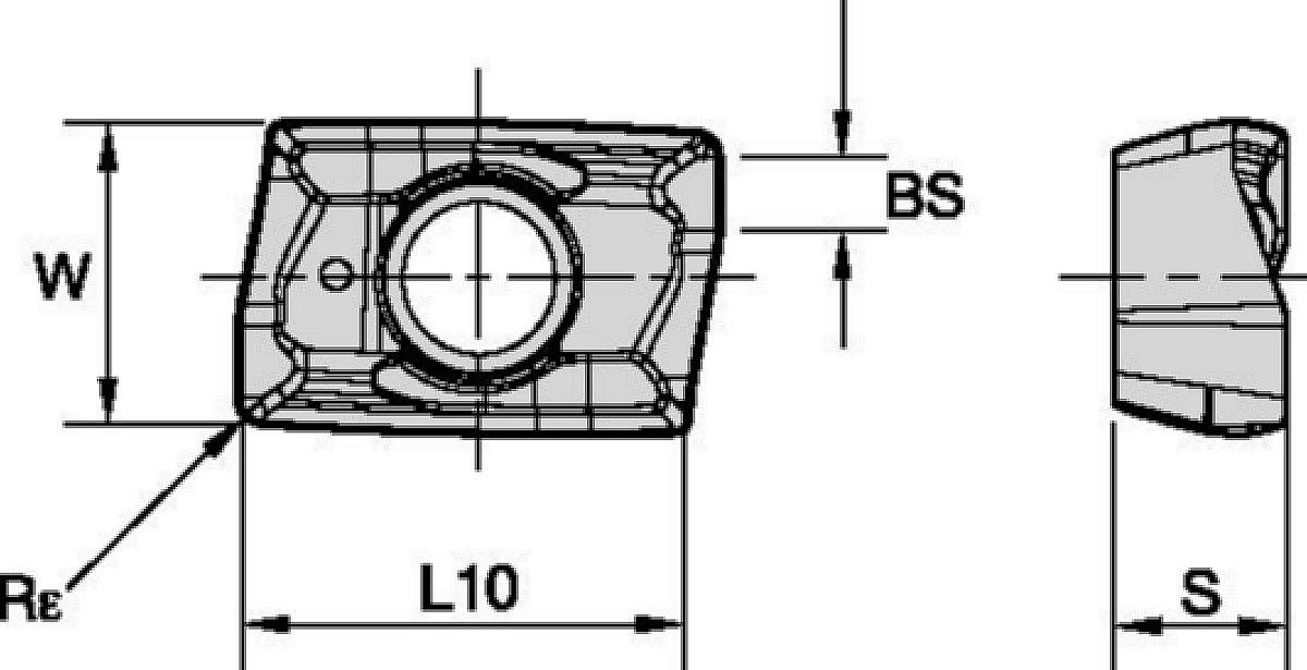 M6800LX Wendeschneidplatten