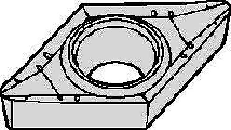 Plaquitas de metal duro ISO/ANSI