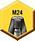 Mango —  Barra de tracción M24