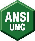 Manufacturer's Specs: ANSI UNC