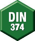 DIN number 374