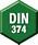 Número DIN 374