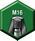 Mango —  Barra de tracción M16
