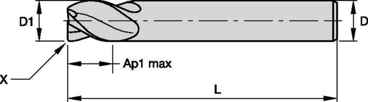 VariMill I™ • Series 4777 • TIALN-LT • Metric