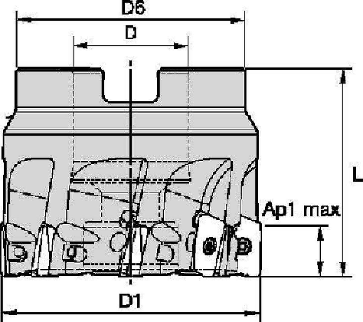 M6800S Tool Bodies