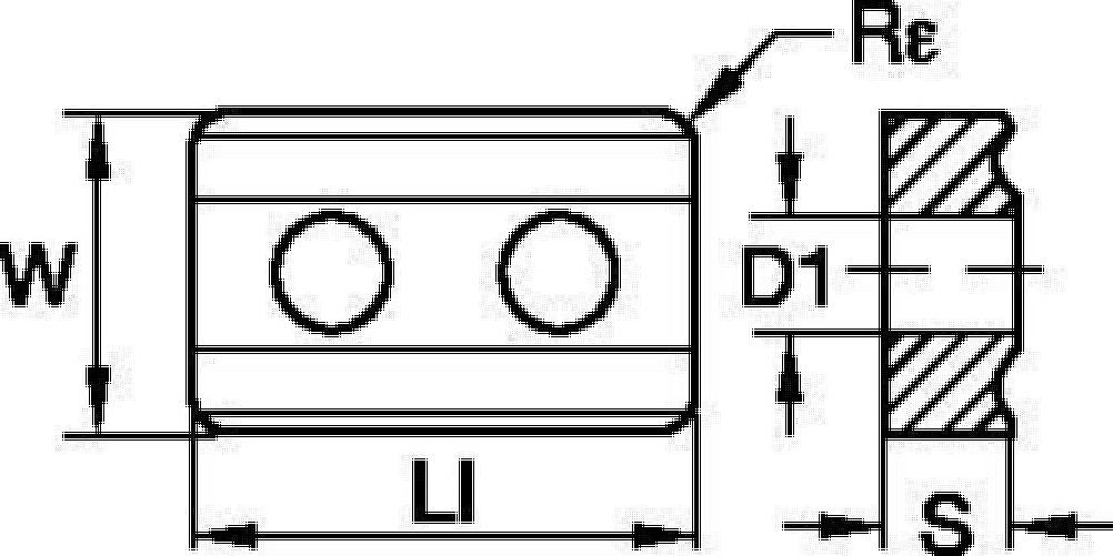 ISO/ANSI超硬インサート