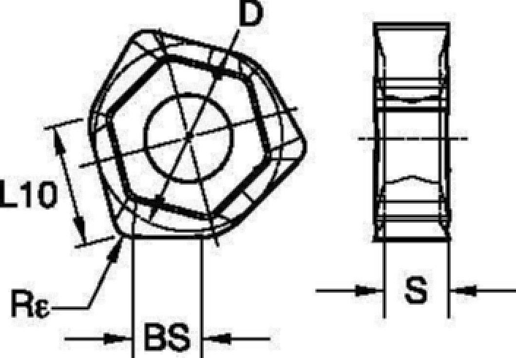 45° • Inserts • XNGJ-LD3 Wiper