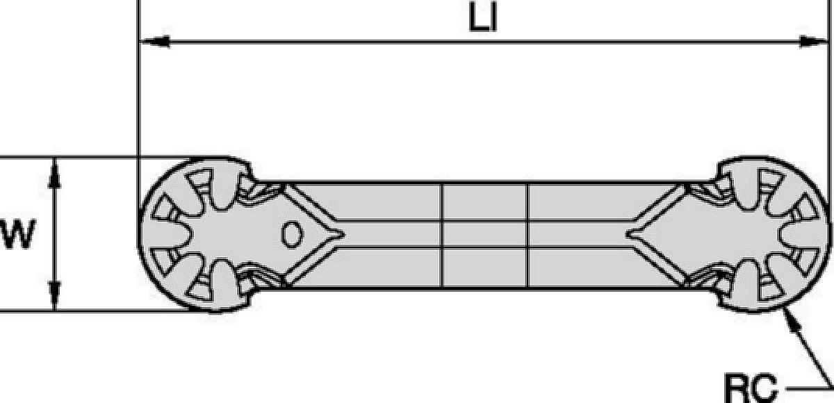 Plunge and Contour Inserts • WMT-P-PC • Precision