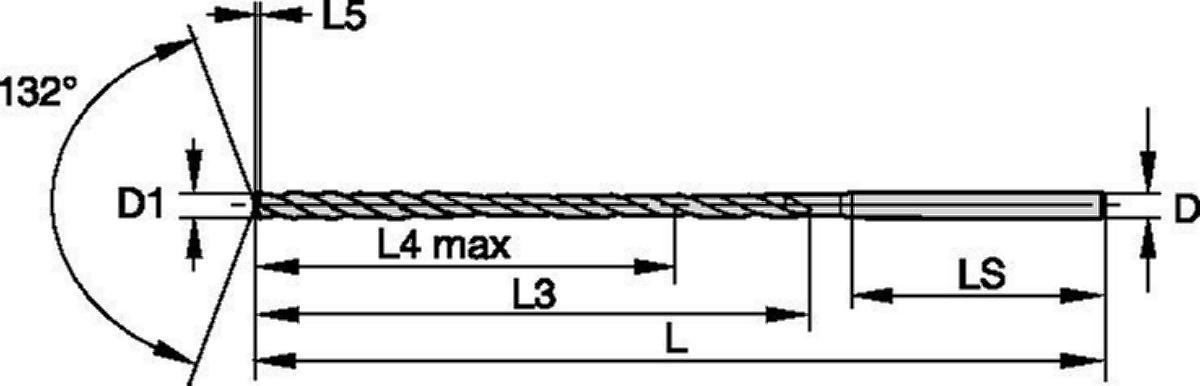 TDD105 • 15 x D • Metrisch