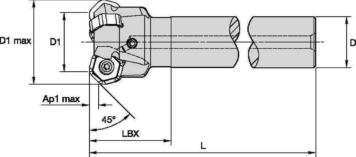 Victory M1200 Mini • Cylindrical Shanks
