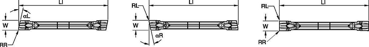Cut-Off Inserts with Wiper • WMT-CM-W