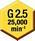 平衡(G 2.5/25,000)