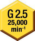 Balanceamento (G 2,5/25.000)