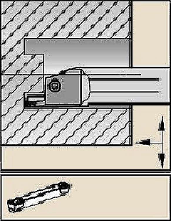 A4™一体型端面溝入れボーリングバー