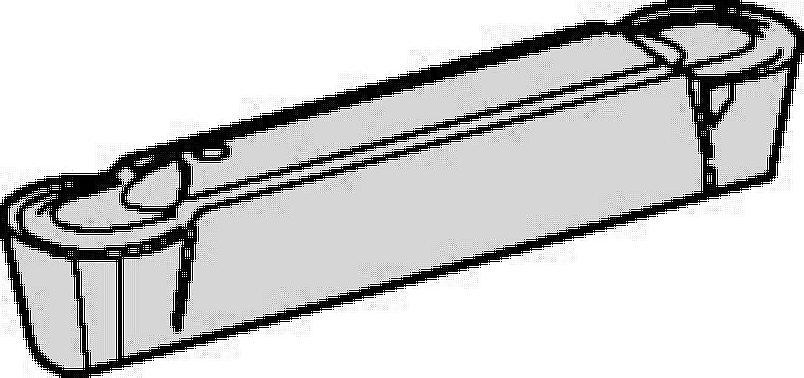 溝入れおよび旋削用A4™インサート • 小径端面溝入れ