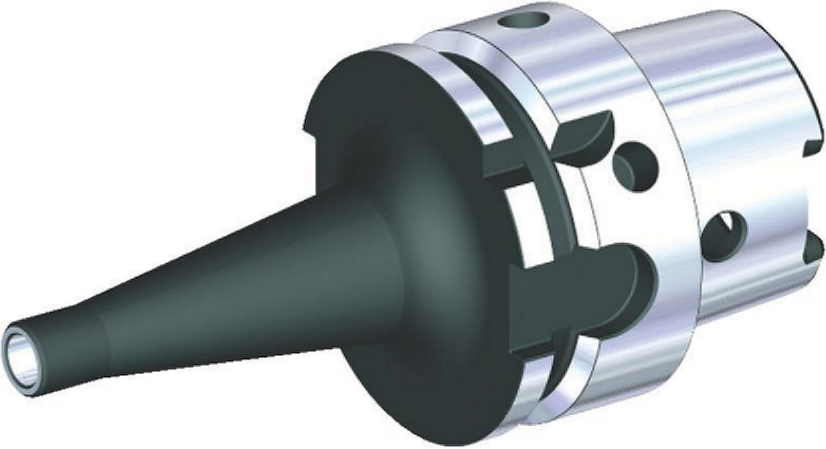 Screw-On Adapters for Modular Milling Cutters