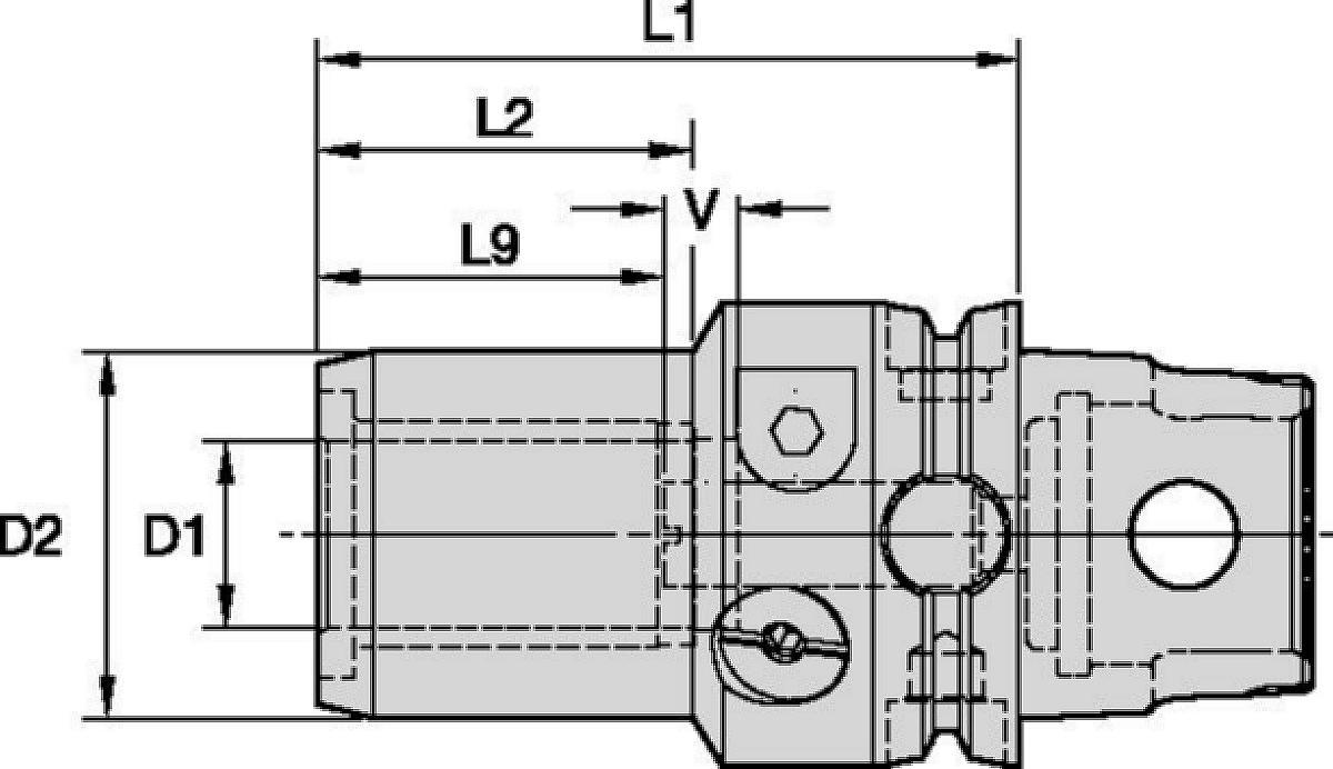 Standardní řada hydraulických upínačů