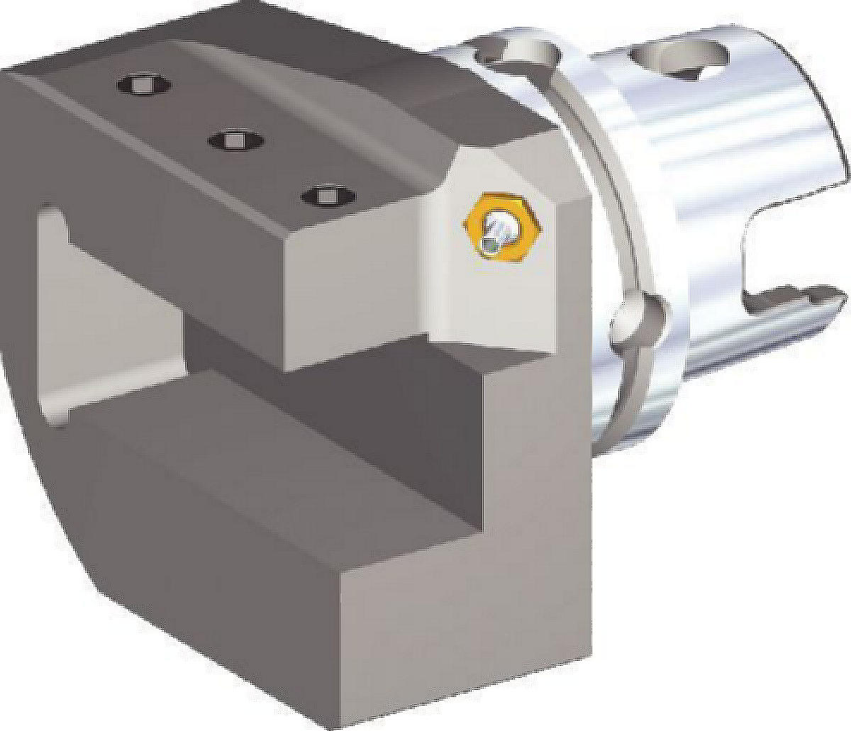Single Square Shank Adapters • M-Clamping