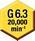 Équilibrage —  G 6,3@ 20000 t/mn