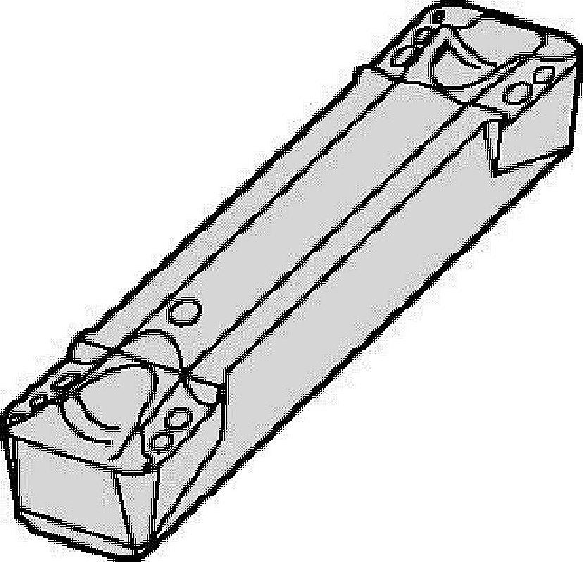 Inserti per scanalatura e tornitura A4™ • Scanalatura frontale di piccoli diametri