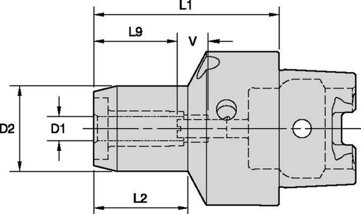 Mandrini idraulici linea HP standard Trend Line