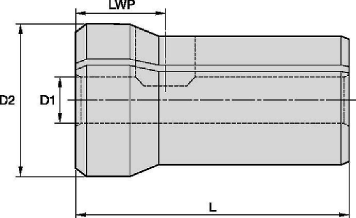 Boquillas estándar de doble ángulo DA