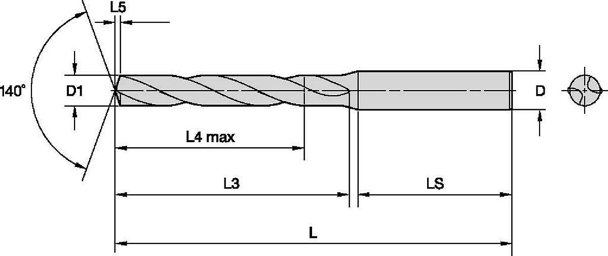 GOdrill™ • Ampla faixa de materiais