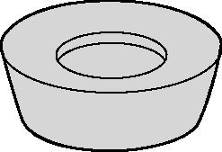 Round Inserts for KDM • RDHX-LP