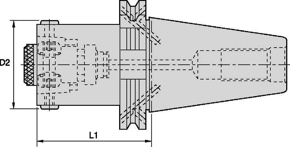 HSK Modular Adapters • Bar Blanks