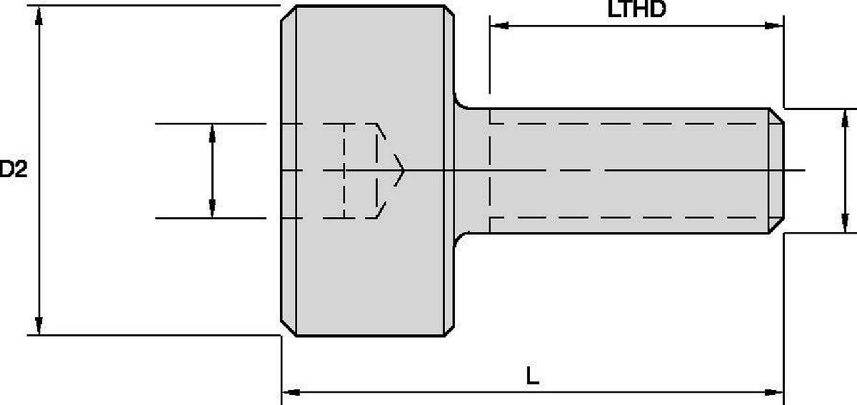Shell Mill Adapter Lock Screws