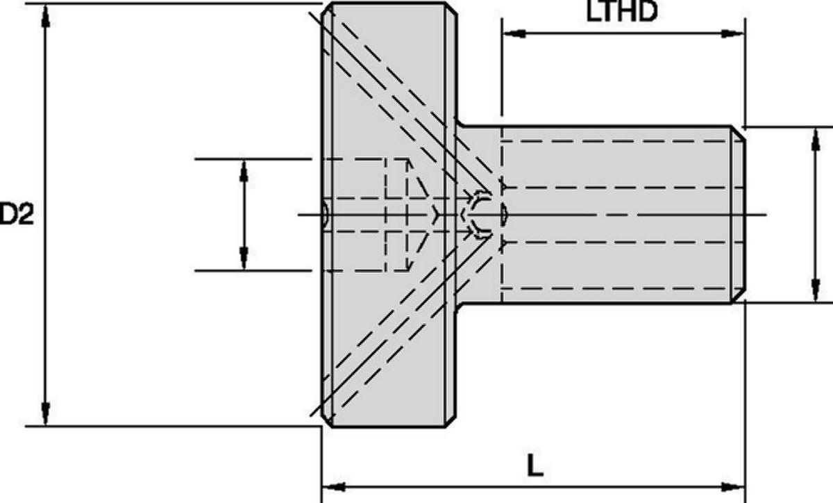Shell Mill Coolant Lock Screws • Tightening Fixtures, KM™ Vise Mounts