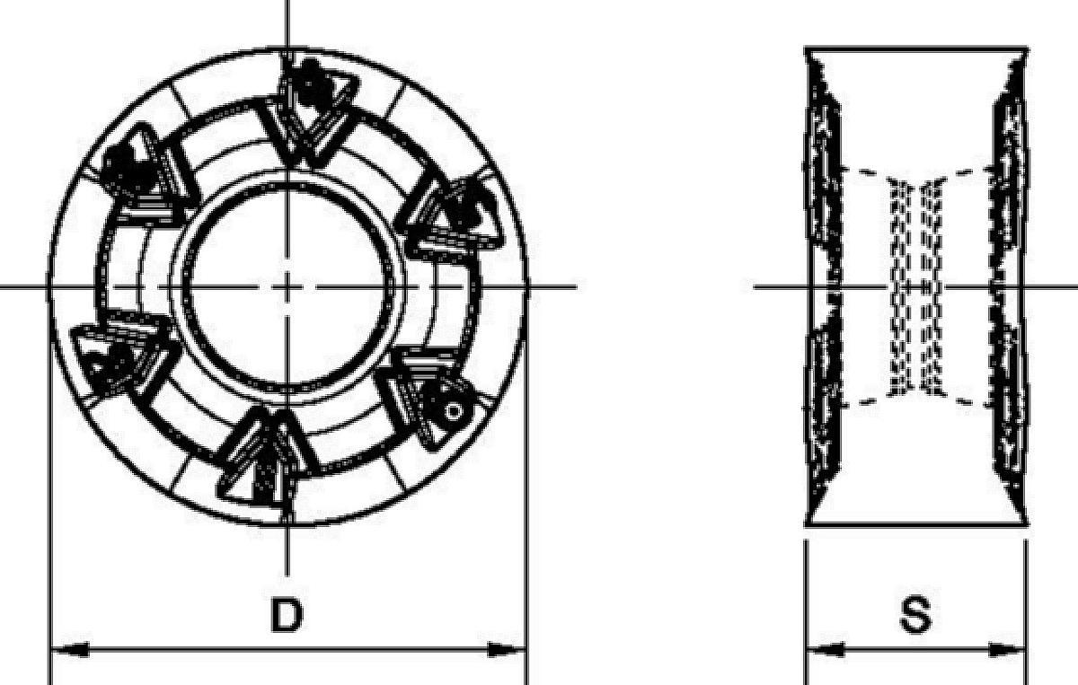 Wendeschneidplatten • RNPJ-MM