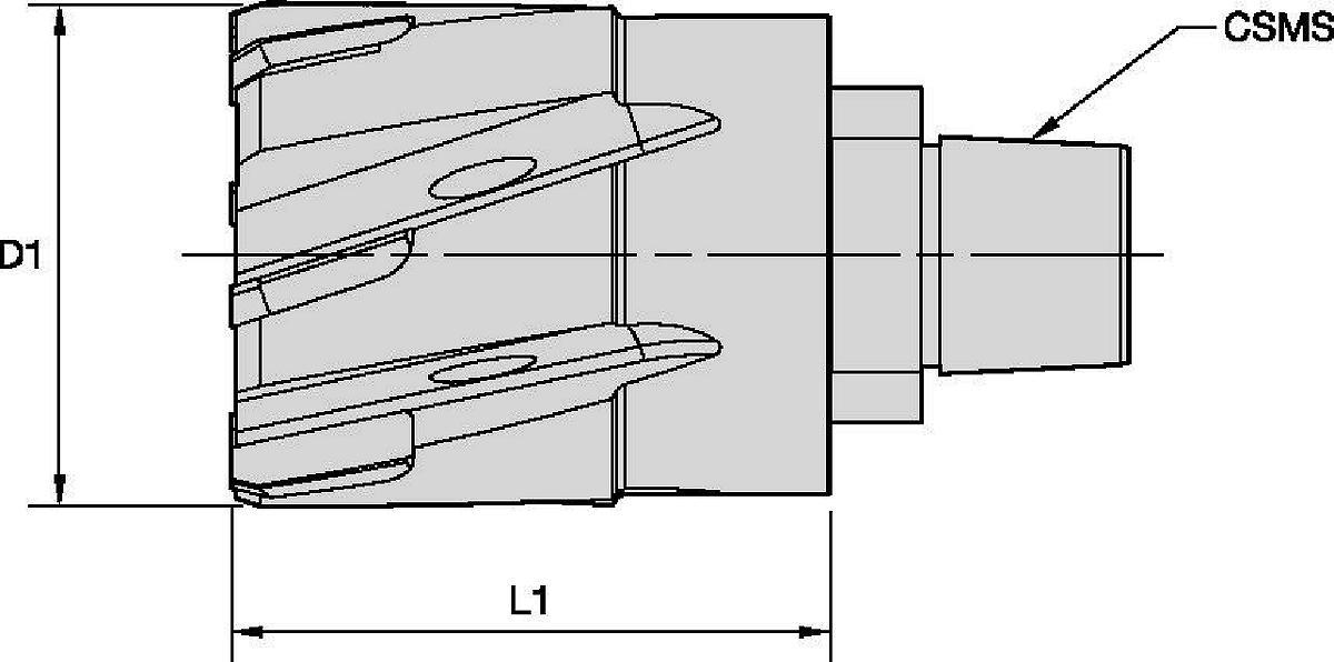 Narzędzia nastawne RHM-E™ do rozwiercania