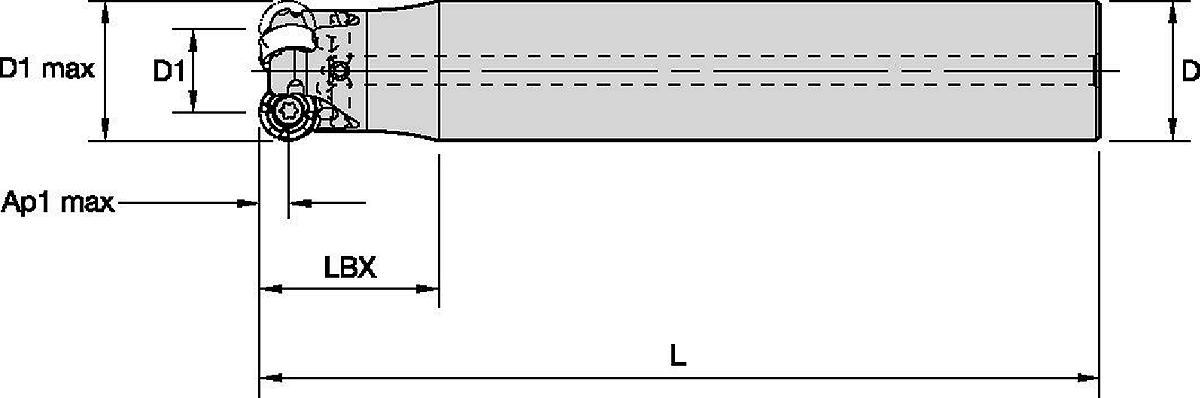 IC10 • Schaftfräser mit Zylinderschaft