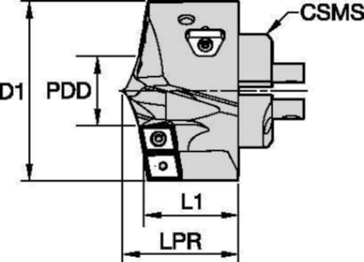 KSEM PLUS™ B1-Bohrköpfe