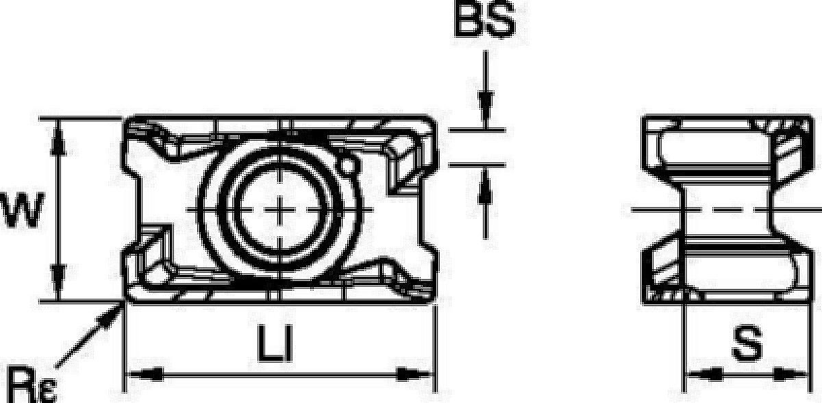 Eckfräsen • Wendeschneidplatte • LNGU15-SGE • Mittel