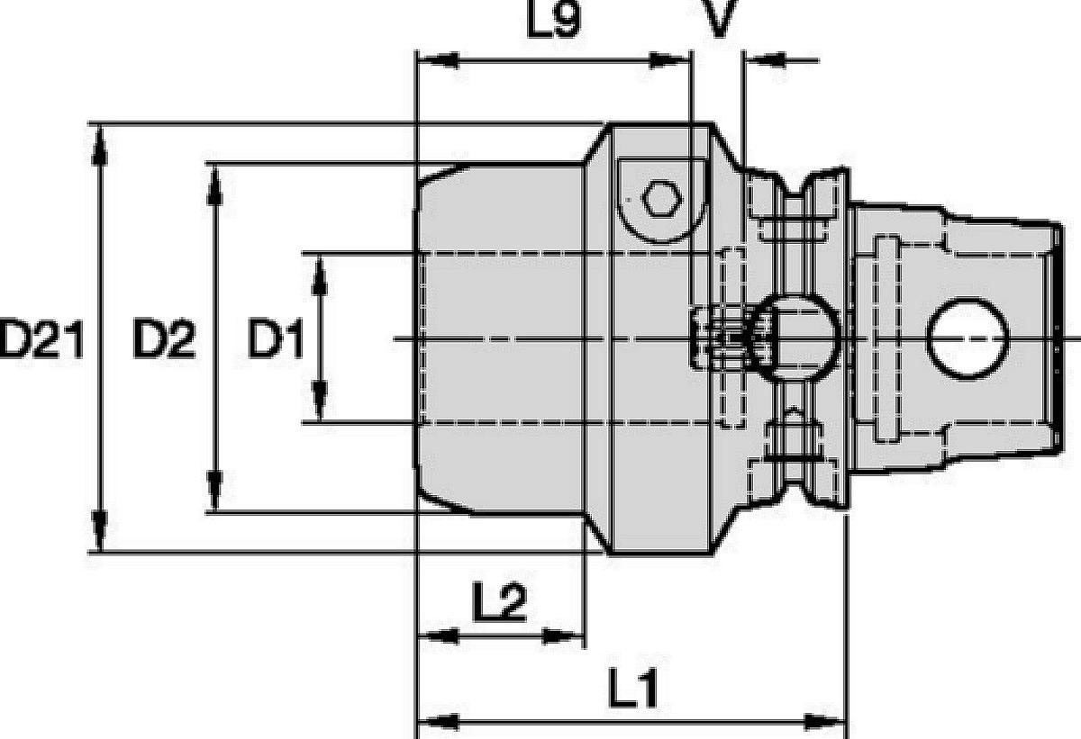 Linea Hydroforce™ a coppia elevata • KM-TS™