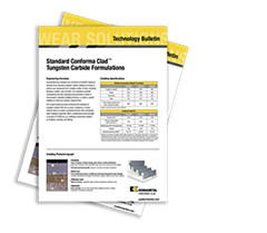 General Cladding Formulas Technology Bulletin