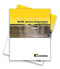 Buses pour jet d'eau abrasif ROCTEC™