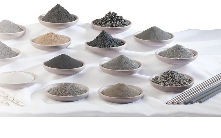 Metal Powders, Materials & Consumables