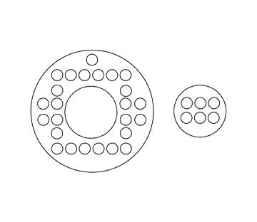 Disc and Donut Baffles
