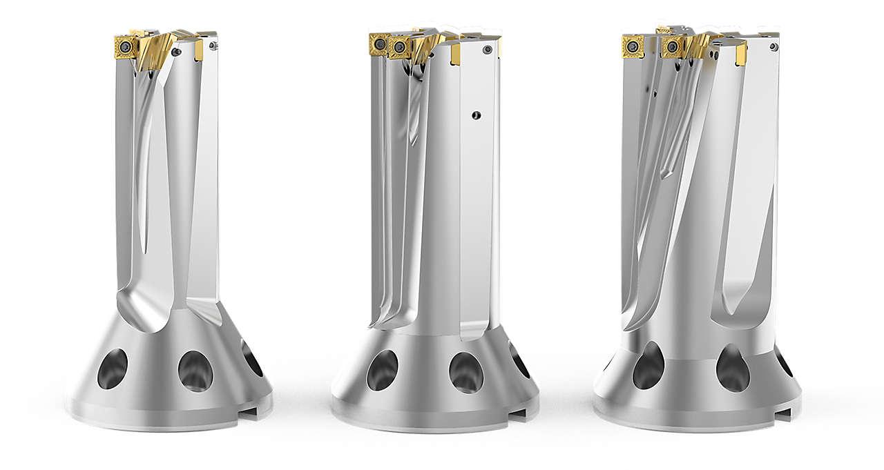 FBX Drill Bodies - 60mm, 75mm, 90mm