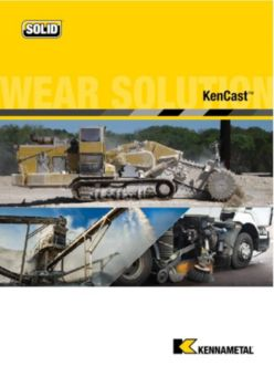KenCast Wear Protection Catalog