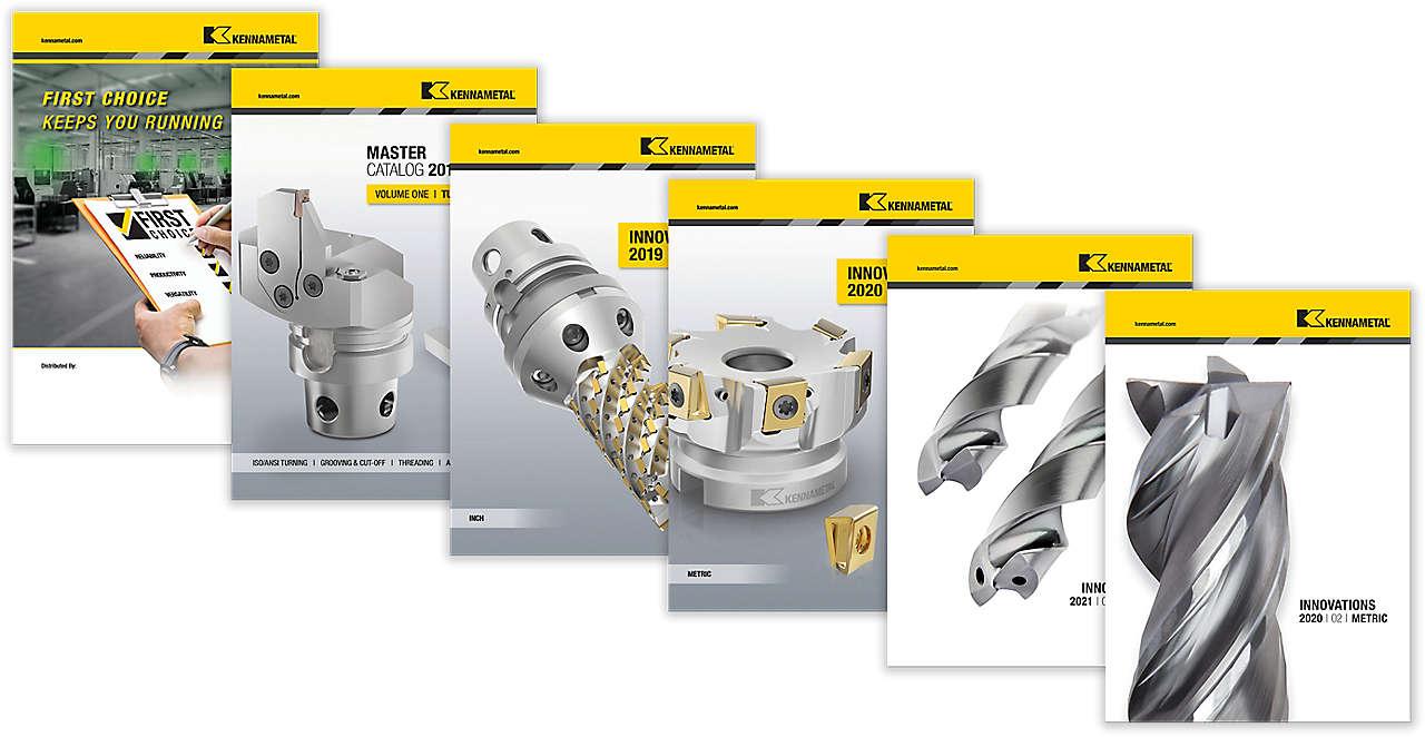 Kataloge zur Metallbearbeitung