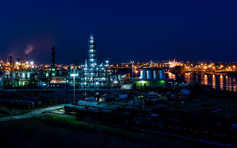 Petrochemický průmysl