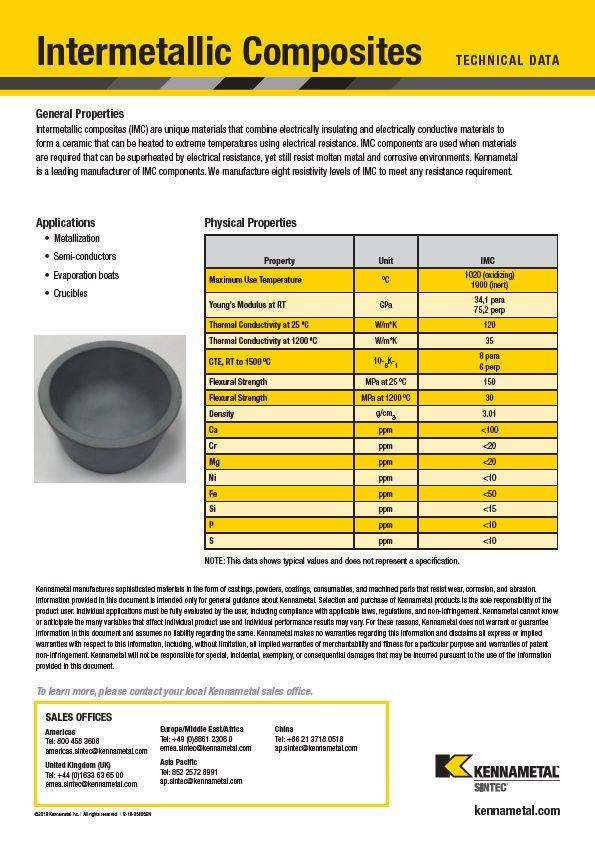 Intermetallic Composites Imc